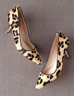 Boden leopard kitten heels
