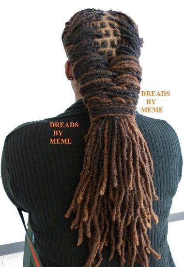 dreadlock styles for women - Google Search