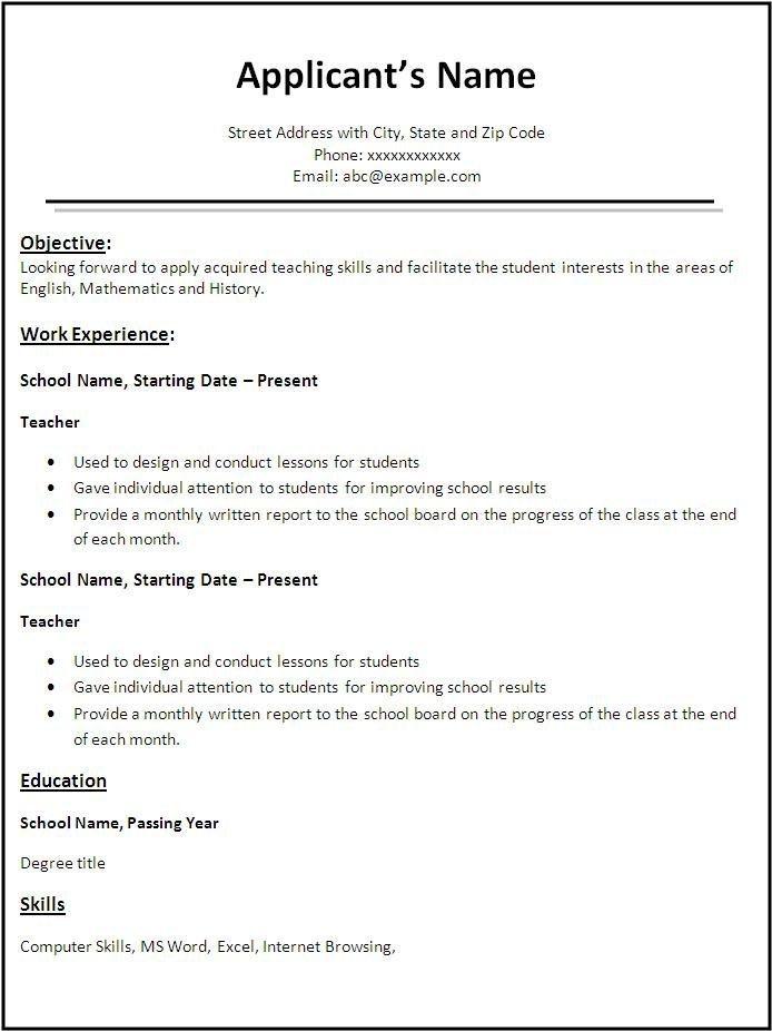 Resume Format Kaise Banaye Banaye Format Kaise Resume Resume