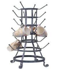 bottle rack inspired Duchamp inspired mug holder...