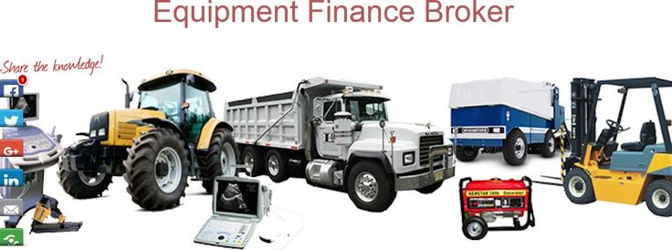 EBroker can help you as your equipment finance broker. We connect you Australia's leading lenders with their rates and terms for your equipment products and possible to get a business equipment loan in as fast as 2-3 days. Read More: http://www.ebroker.com.au/small-business-loan-types/equipment-finance