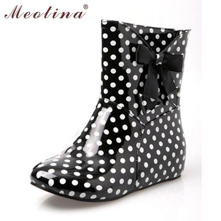 $17.43 (Buy here: https://alitems.com/g/1e8d114494ebda23ff8b16525dc3e8/?i=5&ulp=https%3A%2F%2Fwww.aliexpress.com%2Fitem%2F2013-designer-rain-boots-women-womens-bow-rain-boots-polka-dot-rainboots-female-yellow-rain-boots%2F1252667641.html ) Meotina Shoes W