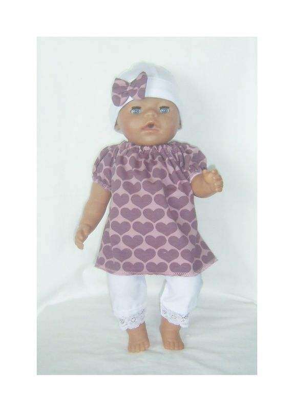 Dukkeklær til dukke 43 cm,