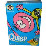 Loved Quisp cereal when I was a kid. Quaker is now making it again. It's tought to find in stores though.