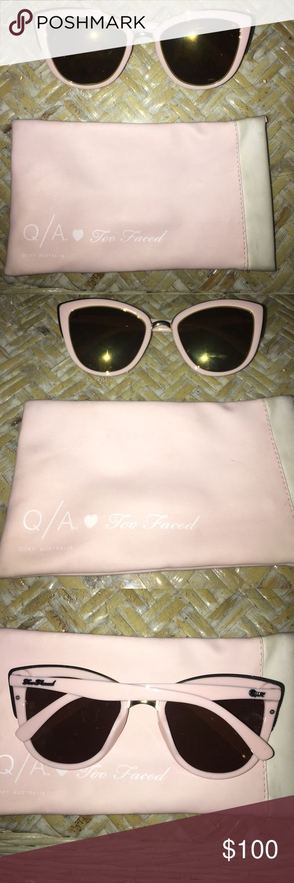 Quay X Too Faced My Girl Sunglasses Quay Australia Sunglasses, My girl, too faced sunnies Quay Australia Accessories Sunglasses