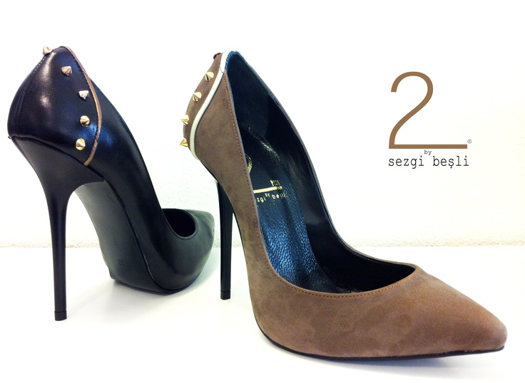 %100 leather high heels shoes
