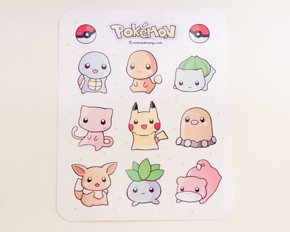 Hey, I found this really awesome Etsy listing at https://www.etsy.com/listing/175357148/pokemon-stickers