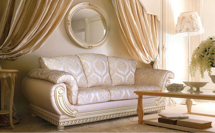 Коллекция итальянской мебели Палаццо от Аллегро-Стиль: диван Армани