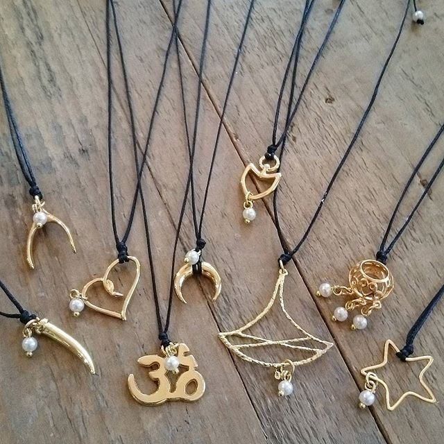 Frolic Stones...chic and simple necklaces