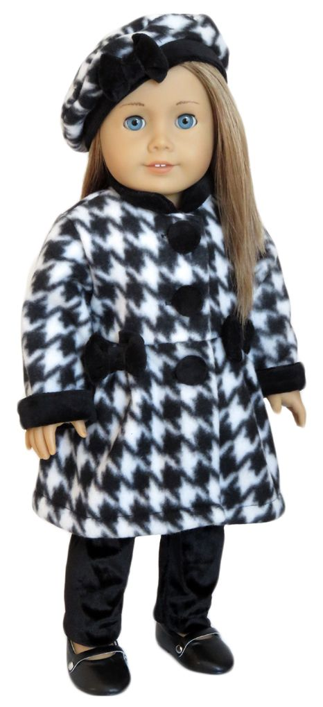 Silly Monkey - Houndstooth Coat, Tam, and Black Leggings, $19.99 (http://www.silly-monkey.com/products/houndstooth-coat-tam-and-black-leggings.html)