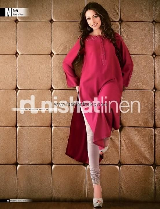 Nishat Linen Ready to Wear Eid Collection 2013 008