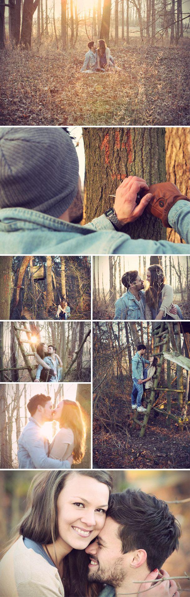 Romantisches Verlobungsshooting von Cornelia Krein Photography
