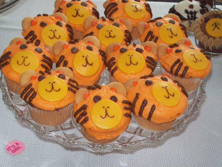 Best 25 Tiger Cupcakes Ideas On Pinterest Safari