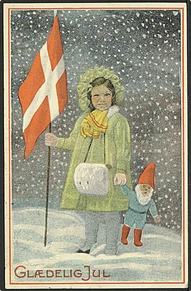 vintage Christmas postcards Brazil | Danish vintage Christmas card, published by Stenders Forlag. Depicting ...,,,love this