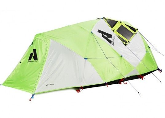 Eddie Bauer's Power Katabatic Solar Tent Will Keep Your Gadgets Charged in the Wilderness