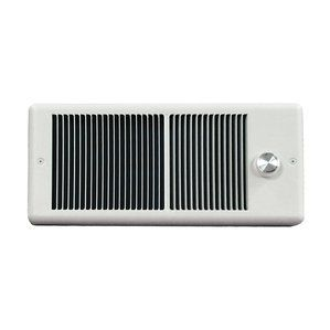 Have A Look At Low Profile Wall Insert Electric Fan Heater with Single Pole Thermostat with Wall Box