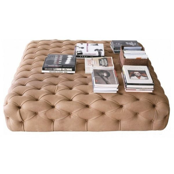 Pouf by De Padova - contemporary - ottomans and cubes - - by Made in... ❤ liked on Polyvore featuring home, furniture, ottomans, filler, interior and table
