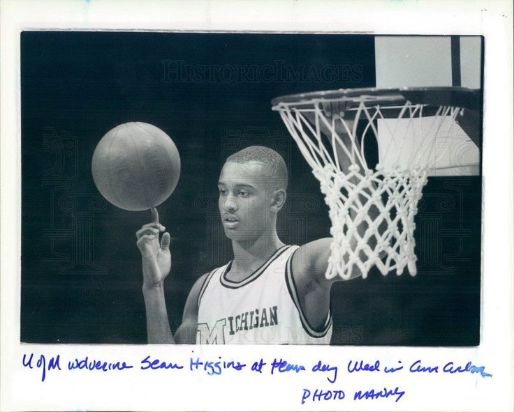 Michigan Wolverines Basketball Sean Higgins