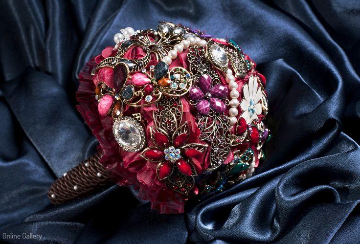 Buchete din brose #handmade  #Brooch #Bouquet #bride