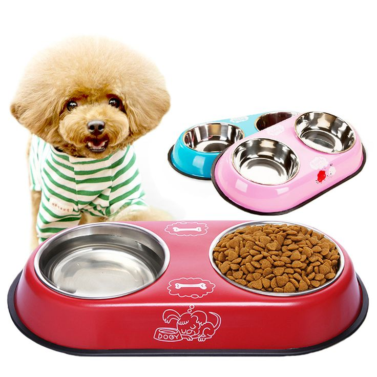 Like and Share if you want this  Stable Unslippery Dog Food & Water Bowls With Holder   Tag a friend who would love this!   FREE Shipping Worldwide   Get it here ---> https://gleepaw.com/veqsking-stainless-steel-double-pet-dog-bowls-puppy-cats-food-water-dogs-feeder-non-slip-feeding-drinking-dishes/