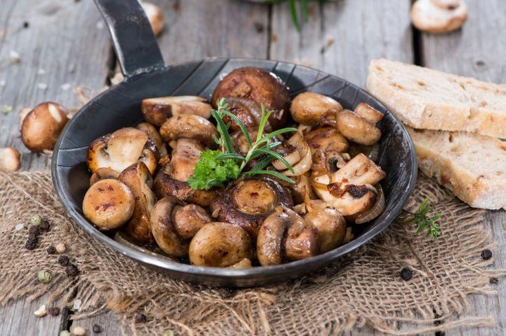 Receita: Conserva de cogumelo paris e ervas provençais, por José Barattino