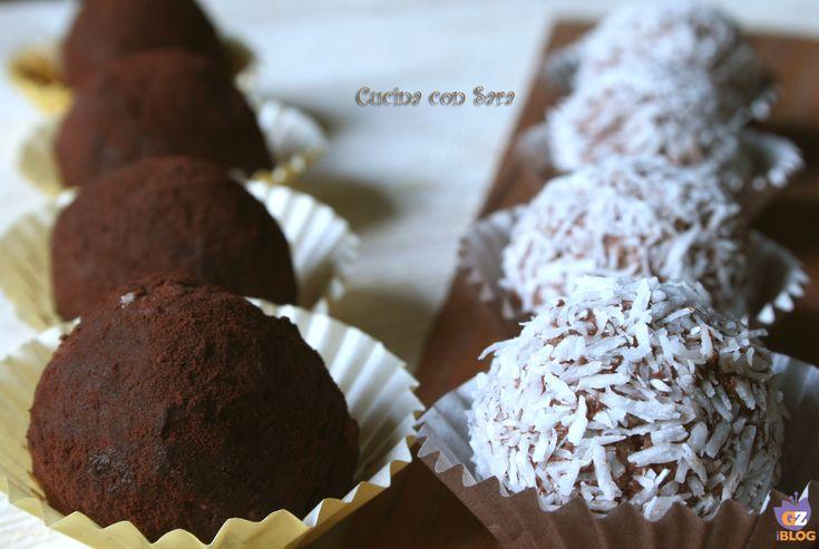 Tartufi ricotta e cacao, ricetta senza cottura