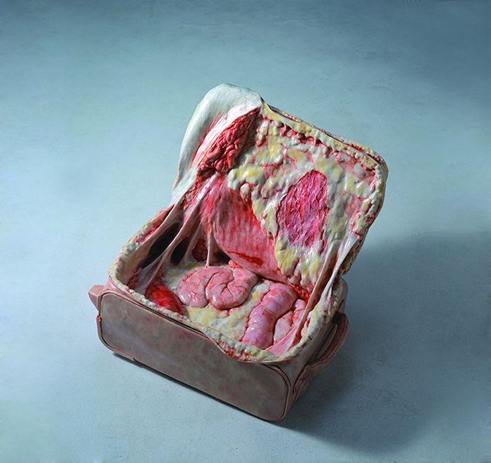 Artist Cao Hui creates flesh sculptures of everyday objects http://www.ignant.de/?p=114506