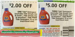 Tide Coupons Tide Coupons Printable Coupons Free Printable Coupons