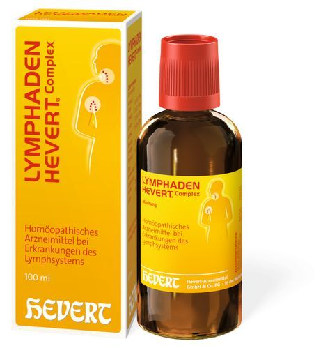 Lymphaden Hevert Complex - bei Erkrankungen mit Lymphknotenschwellung, 4-6 wo Kur.