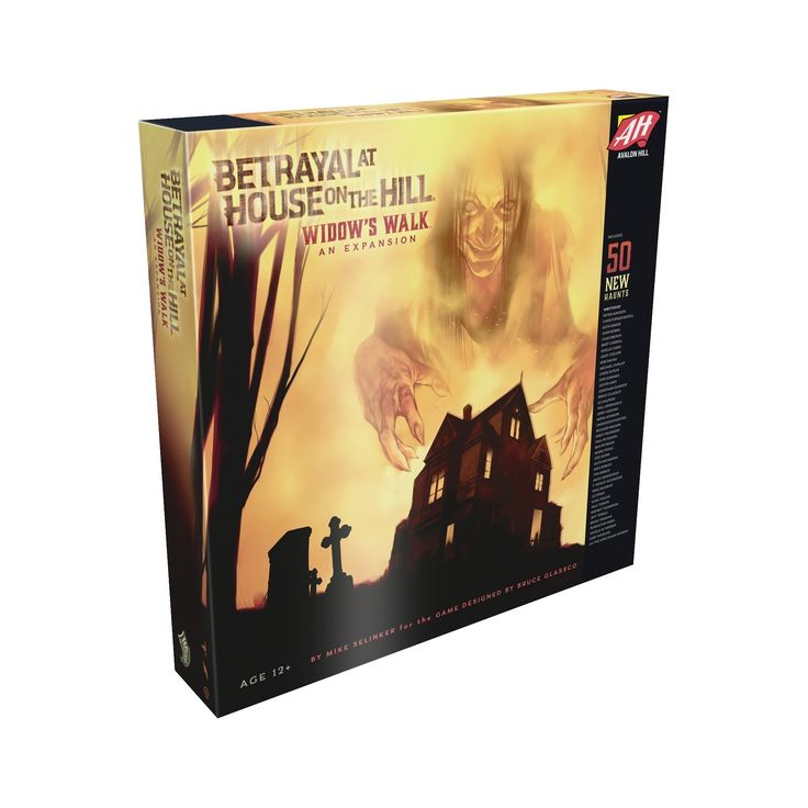 Betrayal at House on the Hill (Widows Walk) Board Game