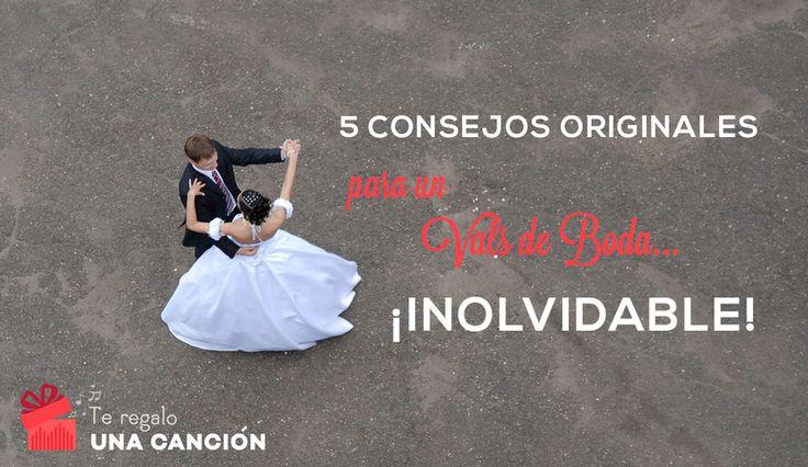 Unos consejos originales y muy útiles para el vals de boda que siempre soñaste. Un baile con tu pareja, que recordarás para toda la vida.