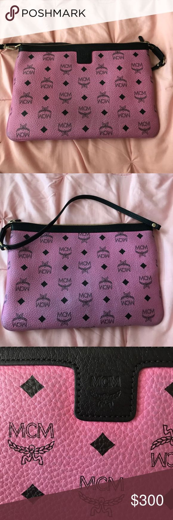 AUTHENTIC MCM Clutch 100% Authentic /// $300 or best offer MCM Bags Clutches & Wristlets