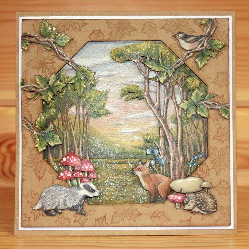 CS157D Bluebell Wood | Hobby Art