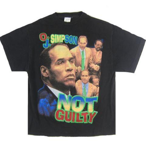 Vintage OJ Simpson The Juice Is Loose T-Shirt