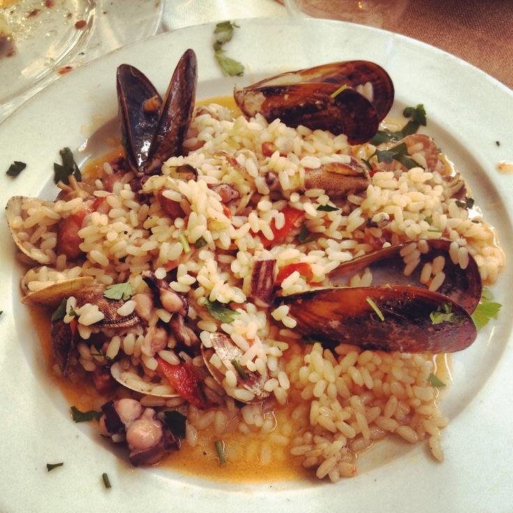 Riso ai frutti di mare  #rice #food #italy #italianfood #fish #yum #yummi