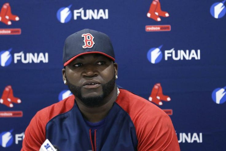David Ortiz discussed his new contract on Monday.          I'm so happy he's staying in Boston!!!!!
