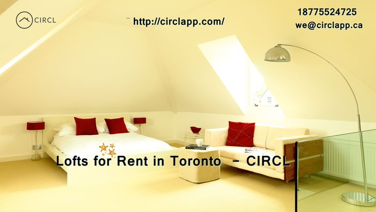 If you need a #Lofts #for #Rent! Call us today! Discover the best lofts for rent at circlapp.com shows off high-class listing of lofts for rent in #Toronto, #ON, #Canada. http://circlapp.com/