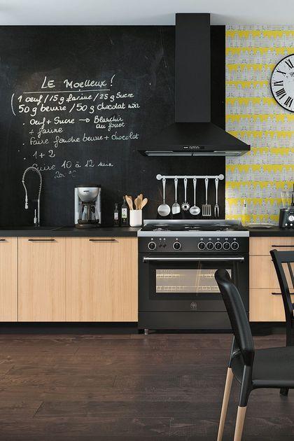 Cuisine Moderne Aubergine : Cuisine bistrot Lapeyre, Darty, Aviva, noire, rouge  Cuisine