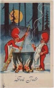 Bildresultat för gamla svenska julkort