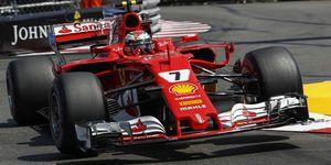 Kimi Räikkönen - Ferrari - Formel 1 - GP Monaco 2017