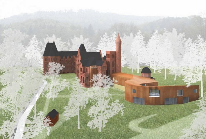 Laboratory of Culture -In Situ- in Sokolowsko - competition project #architecture #render http://goo.gl/sK8tWI