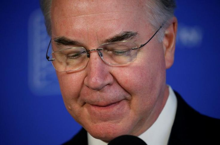 """WASHINGTON (Reuters) – U.S. Health and Human Services Secretary Tom Price said on Thursday that he would write a check to the government to cover the cost of his travel on private charter planes.  """"Today, I will write a personal check to the U.S. Treasury for the expenses of my travel on... - #Health, #News, #Plan, #Private, #Repay, #Secretary, #Travel"""