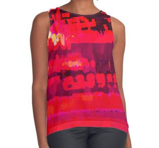 Worlds Within Worlds Contrast Tank
