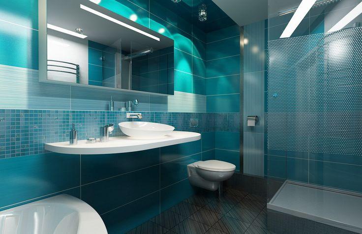 Дизайн ванной из итальянской плитки FAP For Love