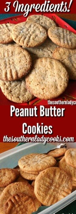 If you are a peanut butter lover, you will love these three ingredient peanut butter cookies. They are the easiest cookies you will ever make.