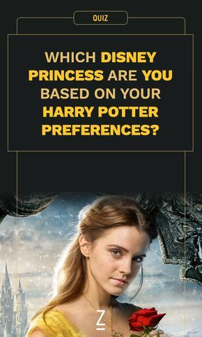 Which Disney Princess Are You Based on Your Harry Potter Preferences?