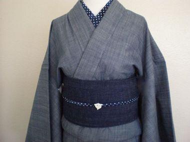 デニム着物の色落ち、気になりますか :: キモノ・モダン-着物デザイン製作日記|yaplog!(ヤプログ!)byGMO