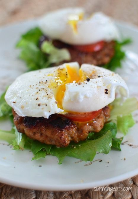 Breakfast Towers - Gluten Free, Dairy Free, Slimming World, Weight Watchers, Paleo and Whole30 friendly