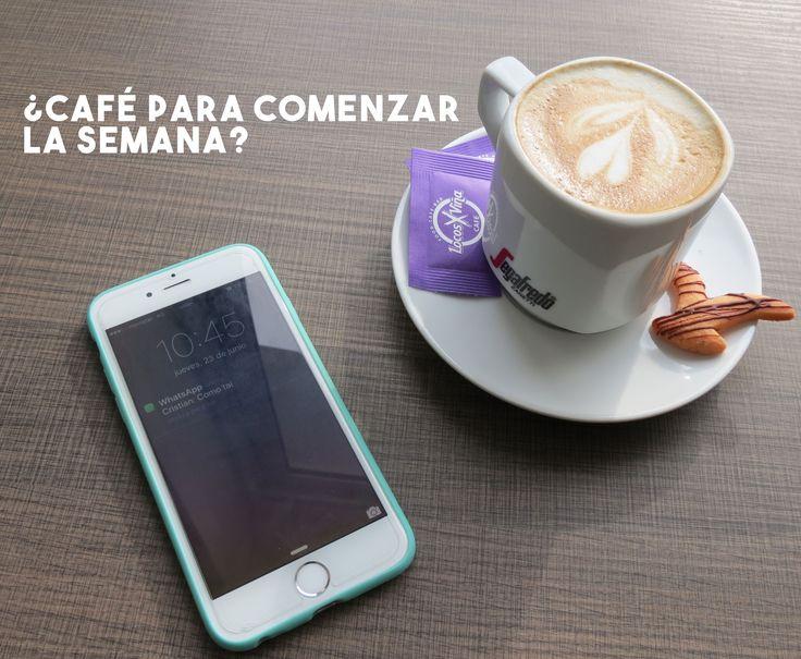 Comienza tu semana con el mejor café !