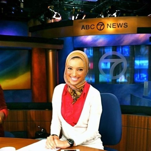 Noor Tagouri, poet & philanthropist, dreams of being the first veiled talkshow-host on American television.